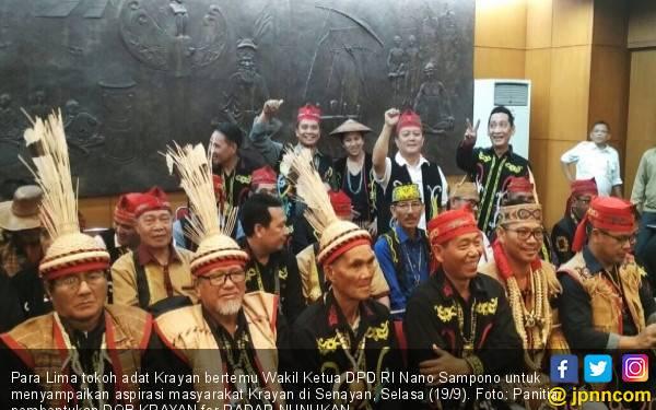 Tokoh Adat ke Jakarta Demi Terbentuknya DOB Krayan - JPNN.com