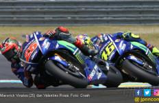 Aduh, Rossi dan Vinales Tercampak ke Q1 MotoGP Aragon - JPNN.com