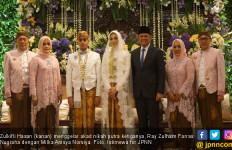 Zulkifli Hasan Gelar Akad Nikah Putra Ketiganya - JPNN.com