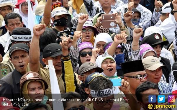 Imbau Honorer K2 Batalkan Rencana Mogok Kerja - JPNN.com