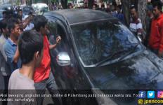 Aksi Sweeping Angkutan Online Masih Terjadi di Palembang - JPNN.com