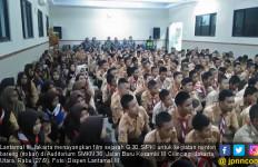 Lantamal III Gelar Nobar Film G30S PKI untuk Siswa SMKN - JPNN.com