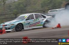 Bertarung Sengit, Pertamax Motorsport Drift Team Naik Podium - JPNN.com