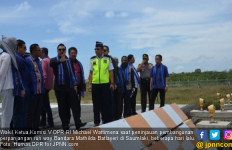 DPR Dorong Perpanjangan Run Way Bandara Mathilda Batlayeri - JPNN.com