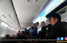 Penumpang Garuda Indonesia Boleh Ambil Gambar di Pesawat, Asalkan... - JPNN.com