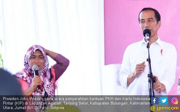 Presiden: 2019, Penerima Bansos PKH Naik jadi 15 Juta KPM - JPNN.com