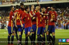 Spanyol jadi Negara ke-11 Lolos Piala Dunia 2018 - JPNN.com