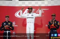 Menang di GP Jepang, Lewis Hamilton Dekati Gelar Juara Dunia - JPNN.com