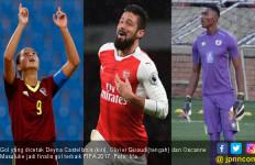 3 Kandidat Gol Terbaik FIFA, 1 Dicetak Wanita, 1 Oleh Kiper - JPNN.com