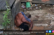 Lihat, Pria Ini tak Bernyawa Lagi Usai Duel Maut - JPNN.com