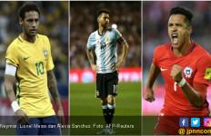 Dendam sama Argentina, Warga Brasil Rela Kalah dari Chile - JPNN.com