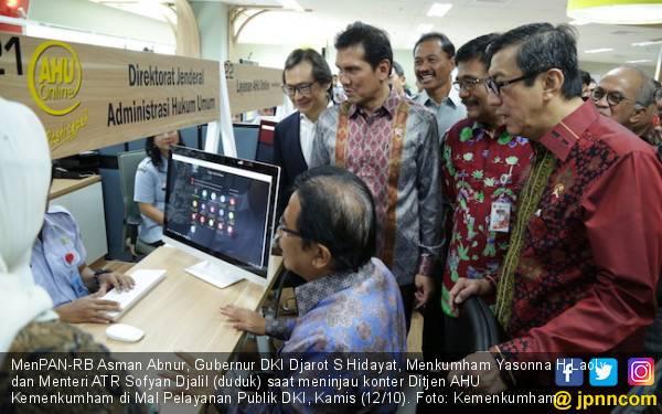 MenPAN-RB Apresiasi PNS, TNI, Polri yang Bekerja Saat Libur - JPNN.com