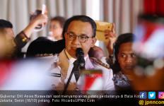 Sampaikan Pidato Perdana, Anies Bertekad Bahagiakan Warga - JPNN.com