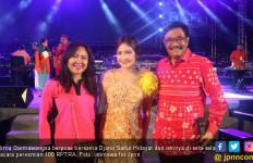 Irma Bangga Wakili penyanyi Dangdut di Peresmian 100 RPTRA - JPNN.com