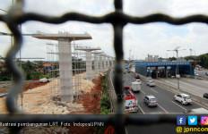 Sudah 99 Persen, Pembangunan LRT Kelapa Gading - Velodrome Terkendala? - JPNN.com