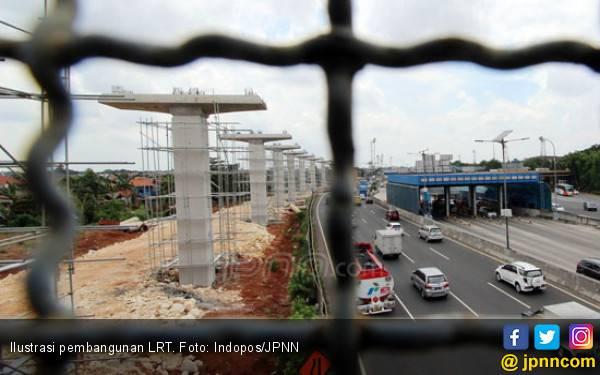 Pendanaan LRT Masih di Awang-Awang - JPNN.com