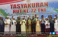 Ribuan Prajurit dan ASN TNI Ikut Tasyakuran Lintas Agama - JPNN.com