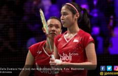 39 Menit! Della/Rizki Dipukul Ranking 2 Dunia di 16 Besar - JPNN.com
