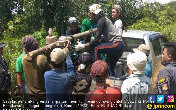 Dari Tasikmalaya ke Bengkayang Cari Emas, Ditangkap Polisi - JPNN.com