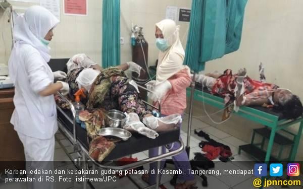 Gudang Petasan Terbakar, Menaker Turunkan Tim ke Lokasi - JPNN.com