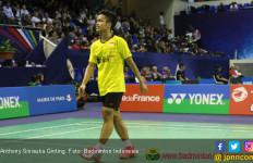 Ginting Cuma Butuh 28 Menit Tembus 8 Besar French Open - JPNN.com