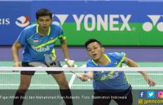 29 Menit, Fajar/Rian Lolos ke Semifinal Malaysia Masters - JPNN.com