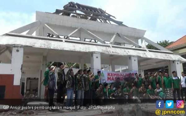 Bu Risma Bongkar Masjid, GP Ansor Kecewa - JPNN.com