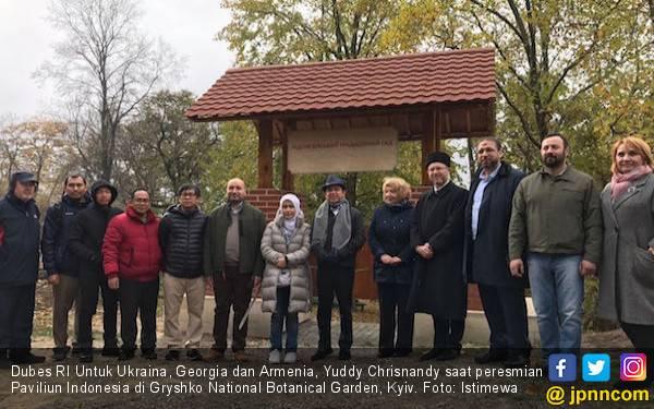 Paviliun Indonesia di Ukraina Ajang Promosi Budaya Bangsa - JPNN.com