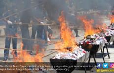 BC Teluk Bayur Musnahkan Barang Ilegal Senilai Rp 6 Miliar - JPNN.com