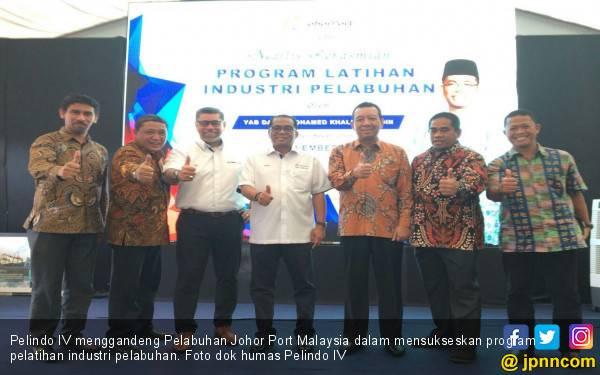 Pelindo IV Gandeng Pelabuhan Johor Port Malaysia - JPNN.com
