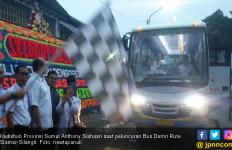 Bus Damri Resmi Layani Rute Siantar-Bandara Silangit - JPNN.com
