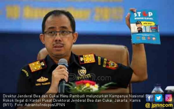 Bea Cukai Dukung Total Kampanye Setop Rokok Ilegal - JPNN.com