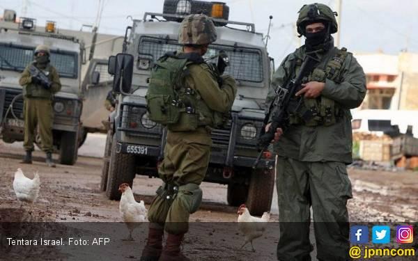 67 Warga Palestina Cedera Ditembak Tentara Israel - JPNN.com