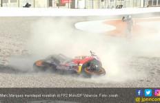 Marquez Dapat Musibah, Lorenzo Kuasai FP2 MotoGP Valencia - JPNN.com