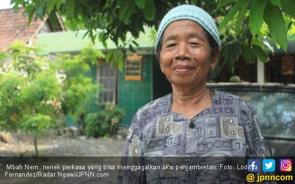 Mbah Tinem Sukses Bikin Jambret tak Berkutik - JPNN.com