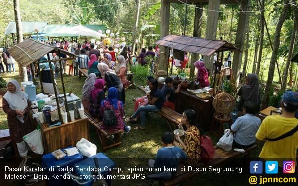 Pasar Karetan gandeng SampahMuda.Com untuk Kelola Sampah - JPNN.com