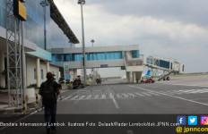 Bawa 3 WNA, Helikopter Jatuh di Luar Pagar Bandara Internasional Lombok - JPNN.com
