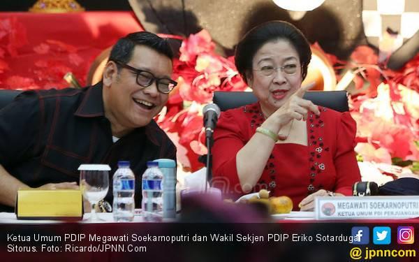 Pertanyaan Eriko PDIP untuk Adik-Adik PSI: Sudah Pasang Foto Jokowi? - JPNN.com