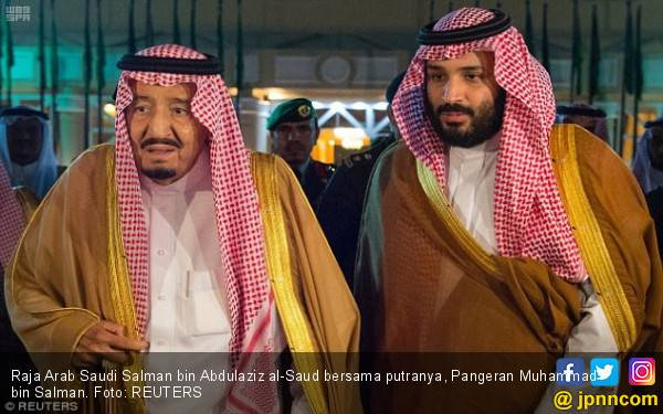 Pangeran Mohammed Berulah, Raja Salman Telepon Trump - JPNN.com