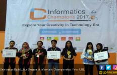 Universitas Budi Luhur Berjaya di Informatic Champions 2017 - JPNN.com
