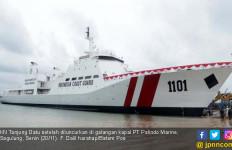 Kapal Patroli Raksasa Buatan Batam Diluncurkan - JPNN.com