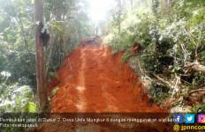 Mantap, Desa Unte Mungkur II Gunakan Dana Desa Bangun Jalan - JPNN.com