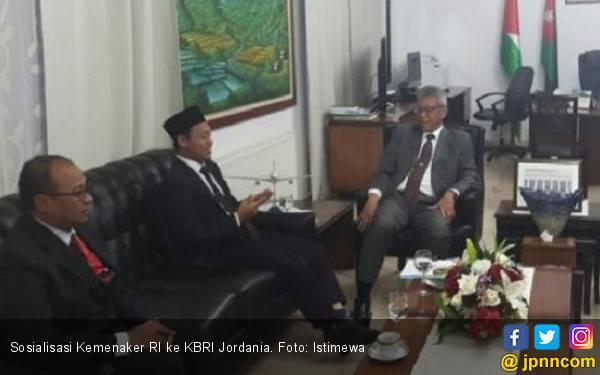 KBRI Amman Jordania Dukung Sistem Atnaker Online Kemnaker - JPNN.com
