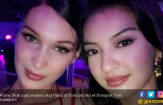 OMG, Cantiknya Raline Shah Selfie Bareng Gigi Hadid - JPNN.com