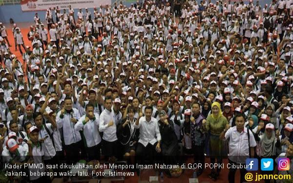 1.500 Kader PMMD Harus Bisa Gerakkan 1,5 Juta Pemuda - JPNN.com