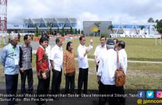 Presiden Minta Runaway Bandara Silangit Diperpanjang Lagi - JPNN.com