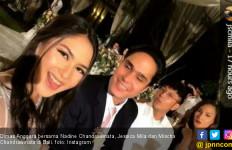 Cie, Dimas Hadiri Pernikahan Adik Nadine Chandrawinata - JPNN.com