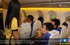 LCC Scoot Akhirnya Terbang Singapura - Palembang - JPNN.com