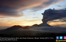 Erupsi Gunung Agung Lebih Besar, Bandara Ngurah Rai Masih Normal - JPNN.com