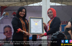 Hebat, Grobogan Pecahkan Rekor Olah Tempe Terbesar di Dunia! - JPNN.com